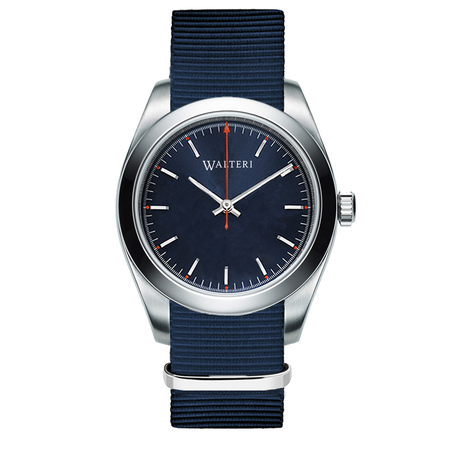 TRAVELLER 42 -  NATO / NAVY BLUE WATCH - WALTERI