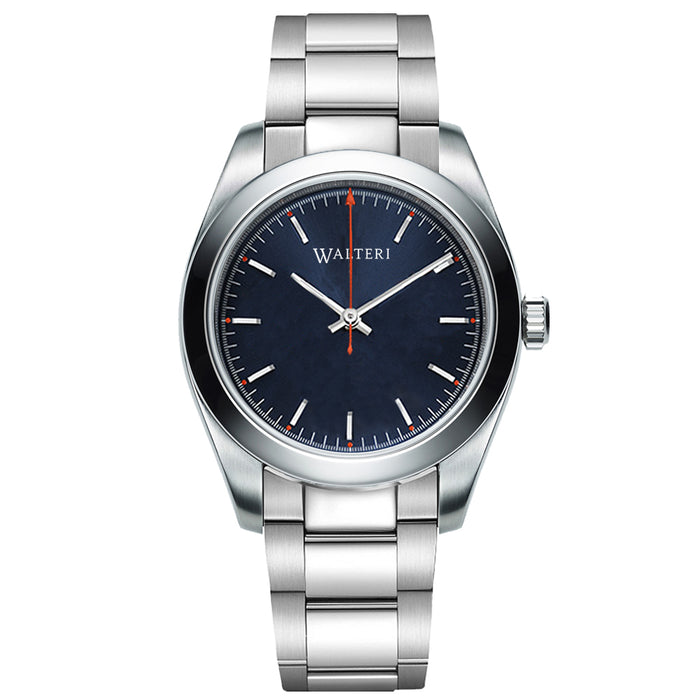 TRAVELLER 42 -  STEEL / SILVER WATCH - WALTERI