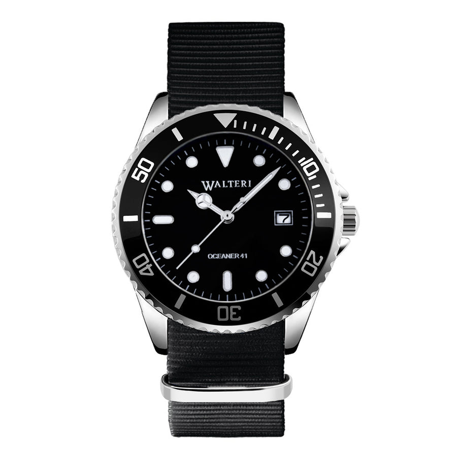 NATO STRAP BLACK WATCH - WALTERI