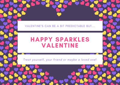 Happy Sparkles Valentine Promotion