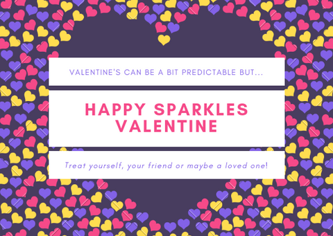 Sparkles Valentines day promotion
