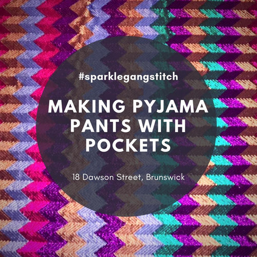 Making Pyjama Pants with Pockets