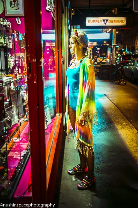 Custom - UV Reactive Unicorn Rainbow Kimono