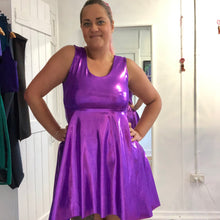 M to XL - Rian's 'everyone needs one' Skater Dress - Hot Purple