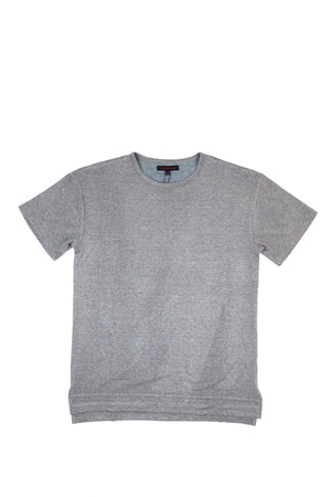 Side Split T-Shirt - Grey
