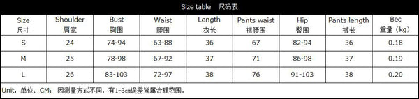 Loose T-shirts Patchwork Skinny Pants Set