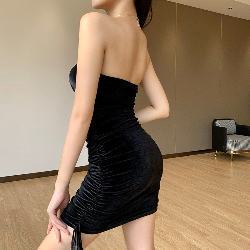 Sexy Women's Off Shoulder Bodycon Dress
