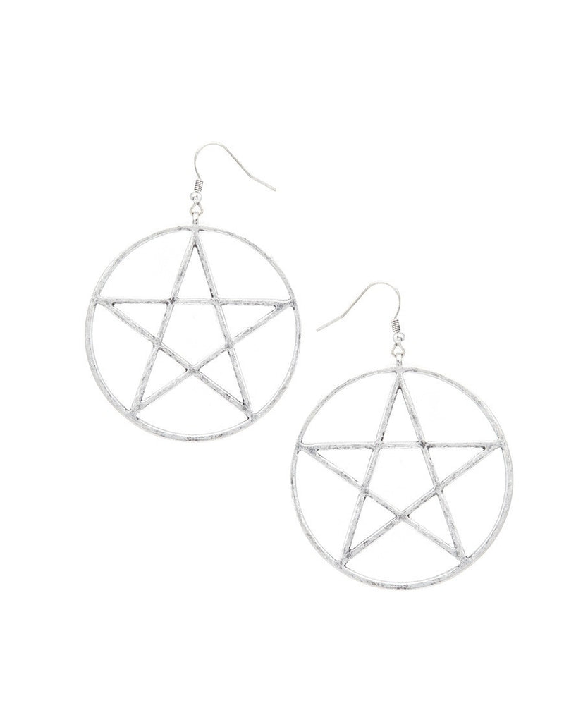 Exaggerated Personality Star Of David Earrings