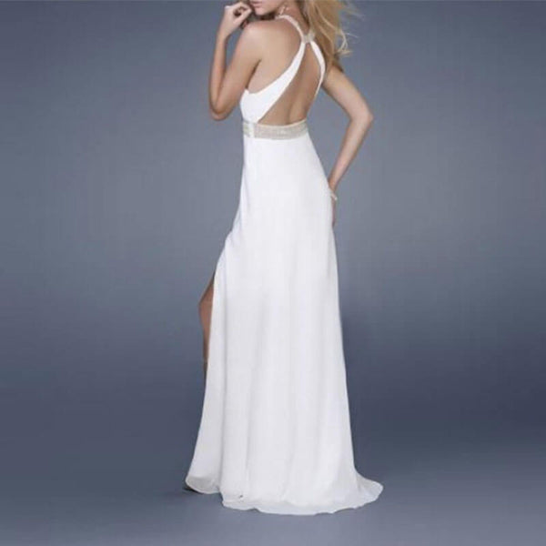 Gorgeous Empire Waist Backless Tight Dress