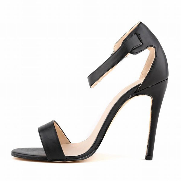 Simple Fashion Sexy Peep-Toe Matte Sandals