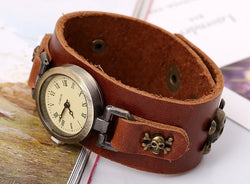 Simple Fashion Handmade Leather Watch