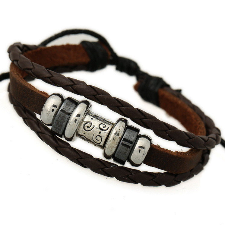 Fashion Alloy Decorate Multilayer Bracelet