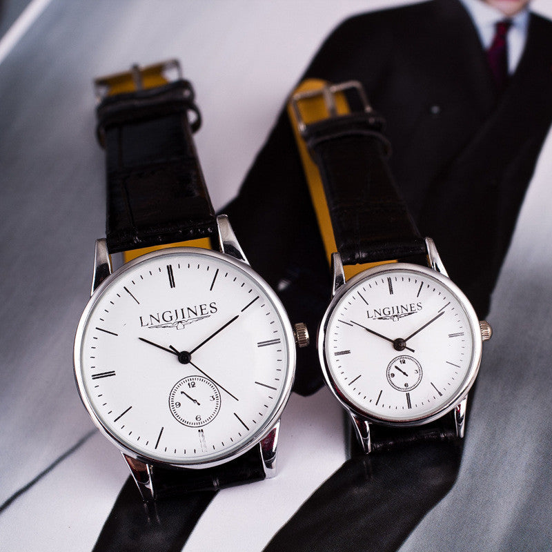 Classic Fashion Couple Watch