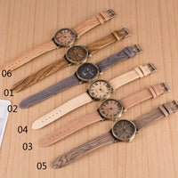 Creativity Wood Grain Watch