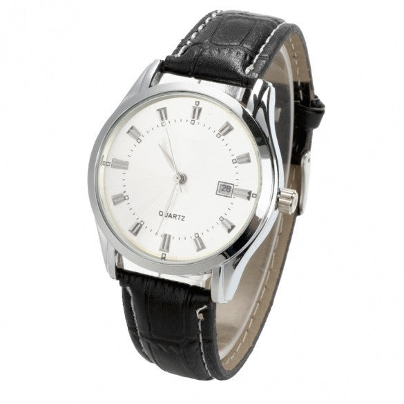 New Man / Men's Quartz Wrist Watches With Auto Date Display Function - May Your Fashion - 2