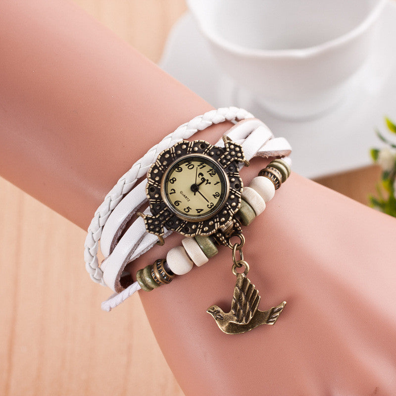 Maya Dove Multilayer Bracelet Watch