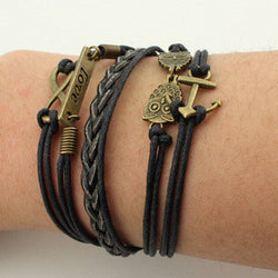 Multilayer Colorful Woven Bracelet
