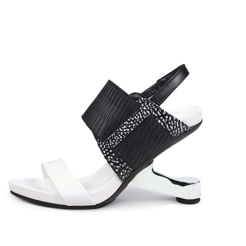 Wide Round Toe Strap Open Toe Sandals
