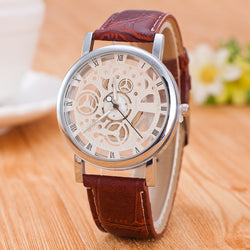 Hollow Out Round Dial Fashion Watch