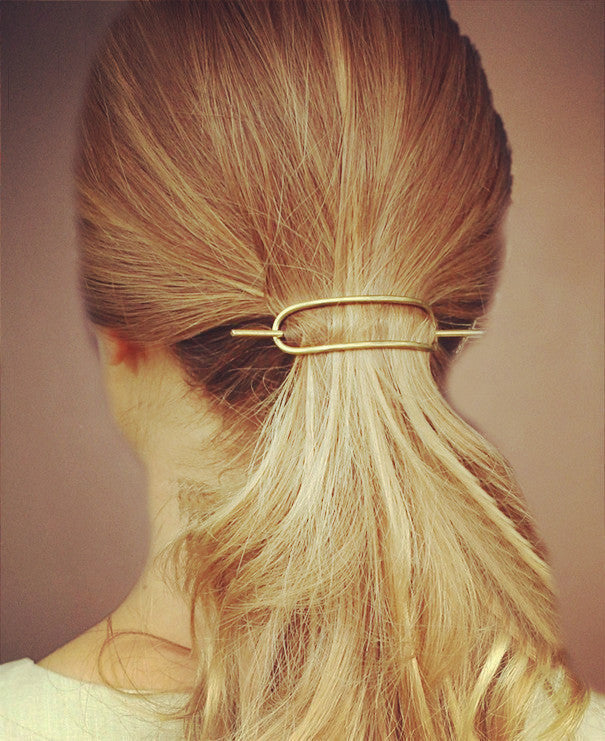 Simple Geometry Popular Women's Hair Accessories