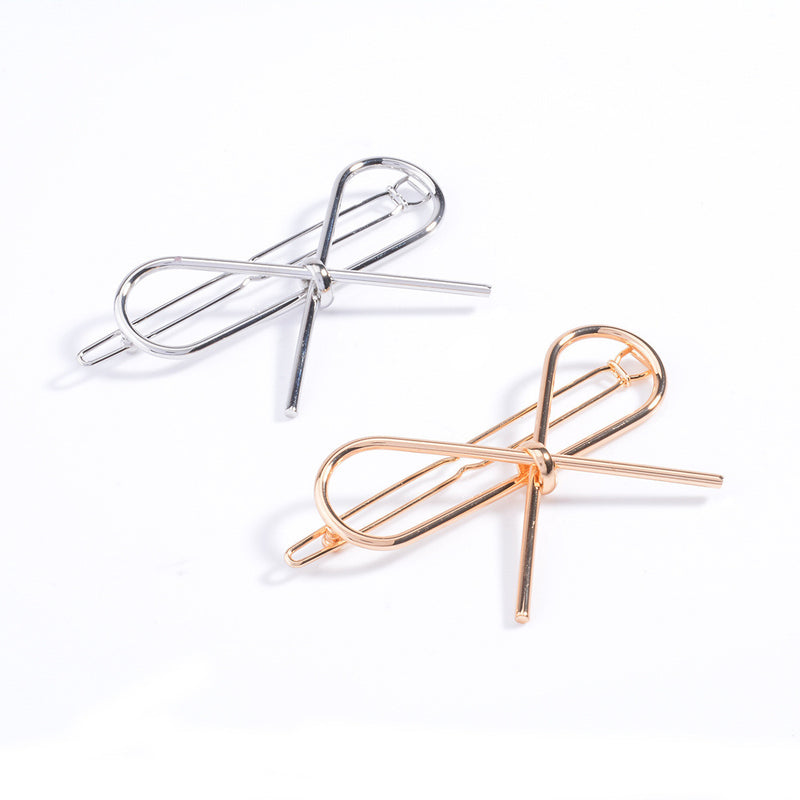 Sweet Hollow Out Bowknot Hairpin