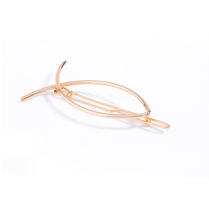 Cute Abstract Small Fish Hairpin