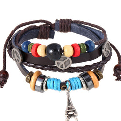 Tower Beaded Woven Multilayer Bracelet