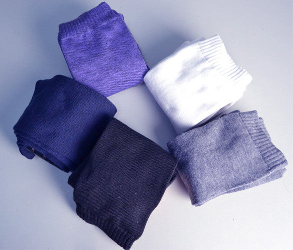 Over the Knee Thinner Cotton Socks - May Your Fashion - 9