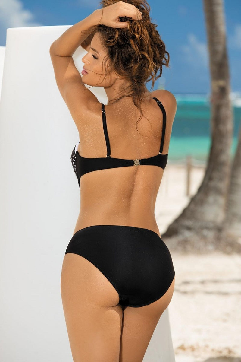 Sexy Black Mesh One Piece Swimwear Bikini
