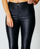 Hot Sales High Waist Skinny PU Pencil Pants