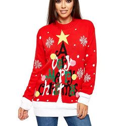 Funny Ugly Christmas Letter Pullover Sweater