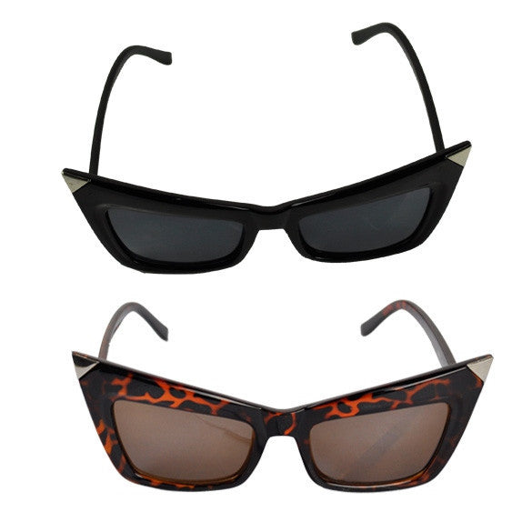 Retro Lady Cat Eyes Sunglasses Glasses Shades Vintage Style