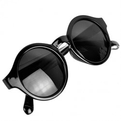 New Super Trendy Retro Round Frame Sunglasses Eyewear UV 400 Unisex Plate Frames