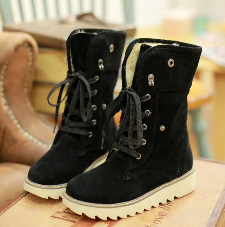Winter Flat Non-Slip Casual Snow Boots