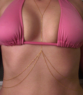 Simple Double Layers BodyChain