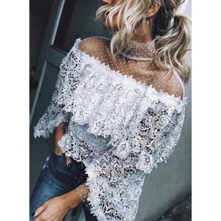 Perspective Lace T-shirt