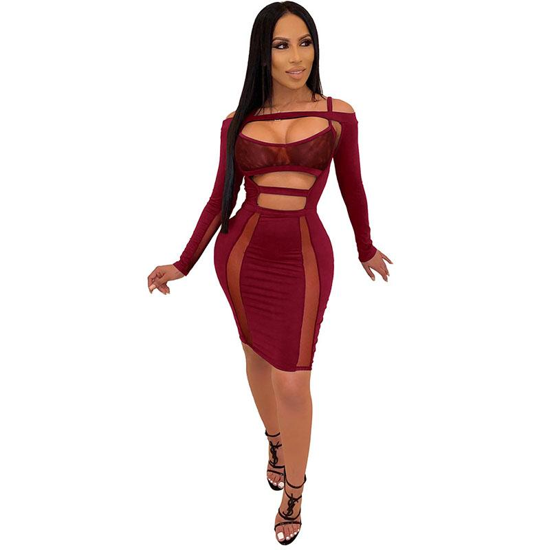 Cut Out Bodycon Short Dress
