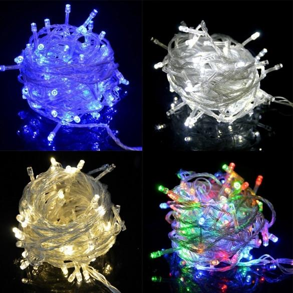 HOMDOX Waterproof 20 Meters 200 LED Bulbs Holiday Fairy Light String Lights For Wedding Party Christmas Decoration UK Plug