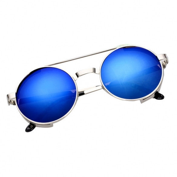 Stylish Women's Retro Round Lens Frame Sunglasses Eyewear Sun Glasses 2 Colors