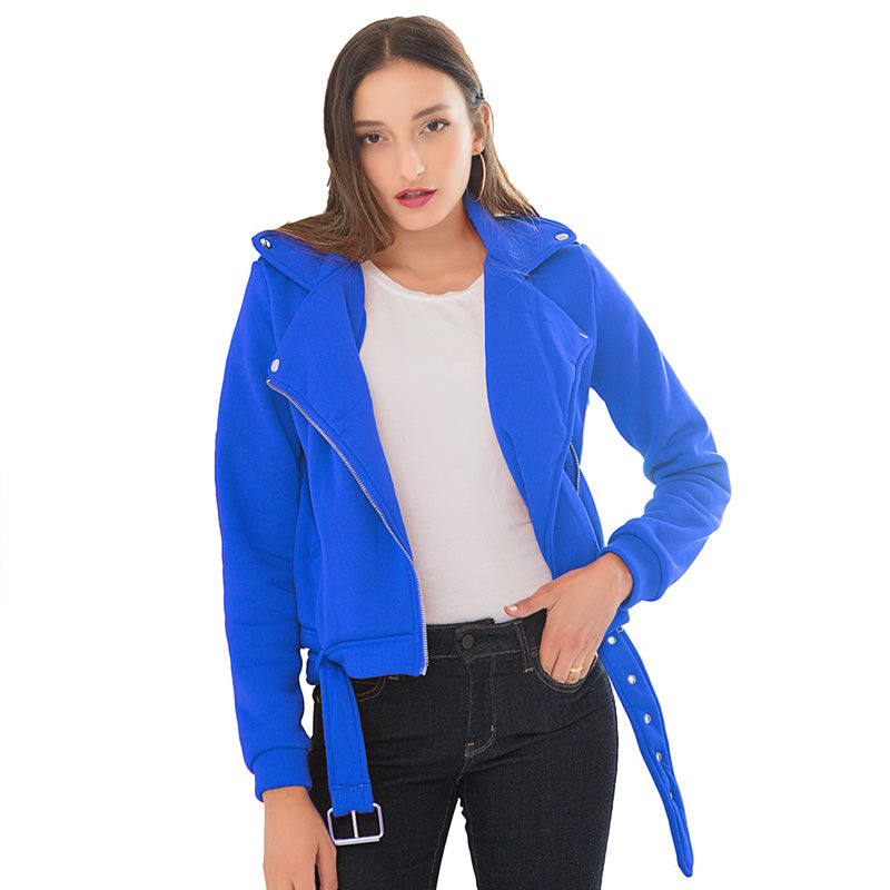 Women Basic Jackets Black Slim Lady Jacket Sweet Female Zipper Femme Outwear Plus Size Coats Long Sleeve Jackets