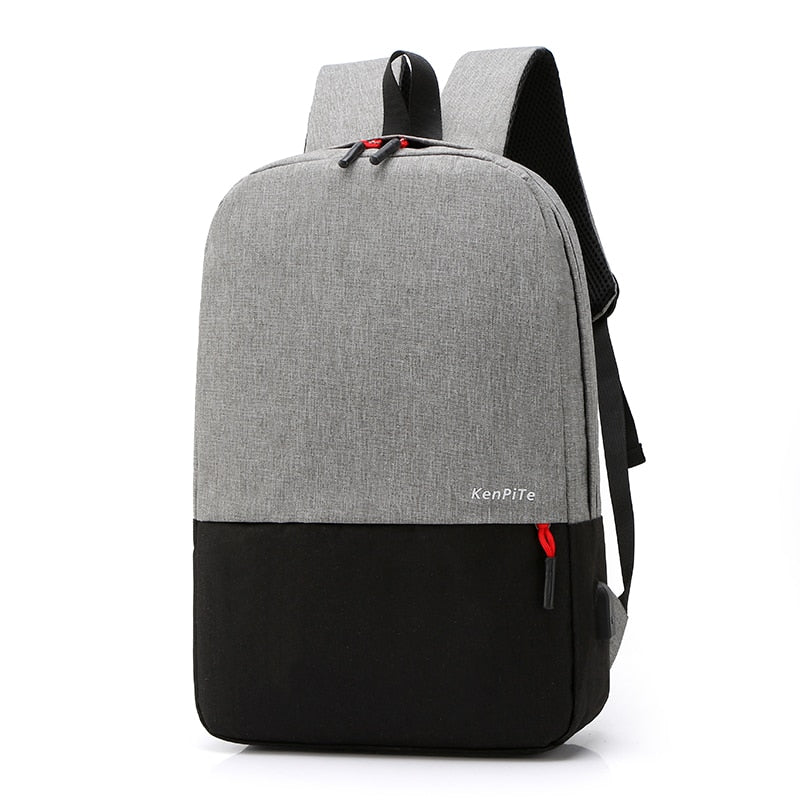 Men Anti-theft Shoulder Bag Portable Backpack Rucksack College School Bag Outdoor Travel Hiking Bag