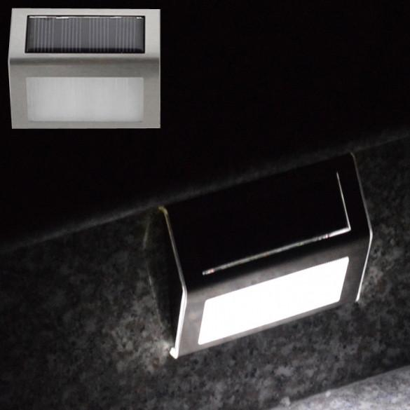 Solar Power Led Light Outdoor Home Garden Yard Wall Pathway Stair Staircase Lamp - Oh Yours Fashion - 2