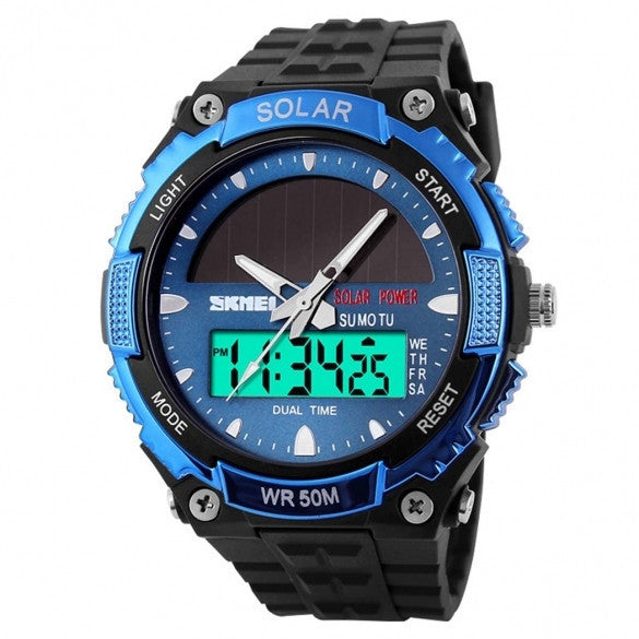 New Wrist Watch Sport Watches Men's Luxury Outdoor Water-Resistant LCD Watch - May Your Fashion - 1