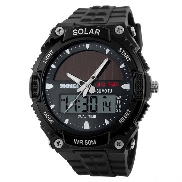 New Wrist Watch Sport Watches Men's Luxury Outdoor Water-Resistant LCD Watch - May Your Fashion - 2