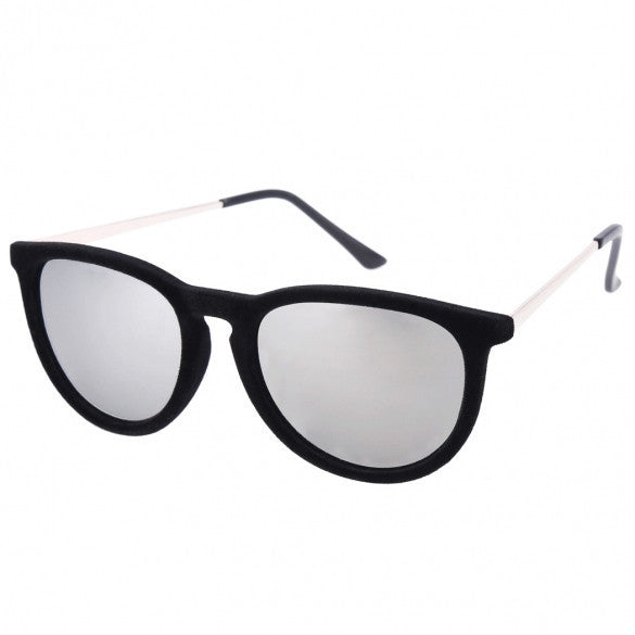 Vintage Style Women Shade Round Sunglasses Retro Metal Frame Sunglasses