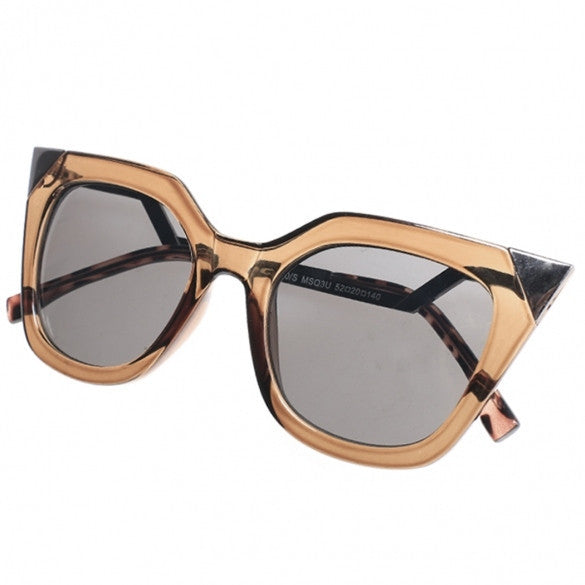 New Fashion Women's Vintage Style Retro Sunglasses Square Frame Big Lens Eyewear Shades Glasses