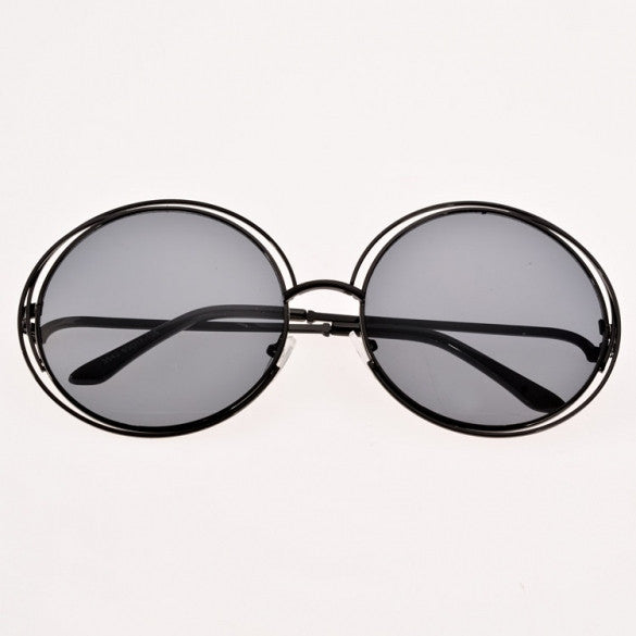 New Women Fashion Sunglasses Eyewear Retro Style Casual Round Sunglasses