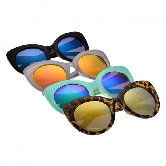 New Fashion Sunglasses Eyewear Vintage Style Casual Irregular Sunglasses