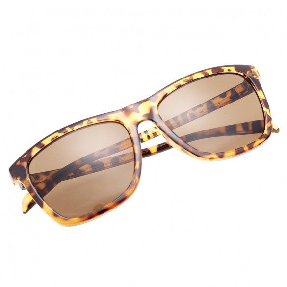 New Women Fashion Sunglasses Eyewear Casual Retro Leopard Sunglasses