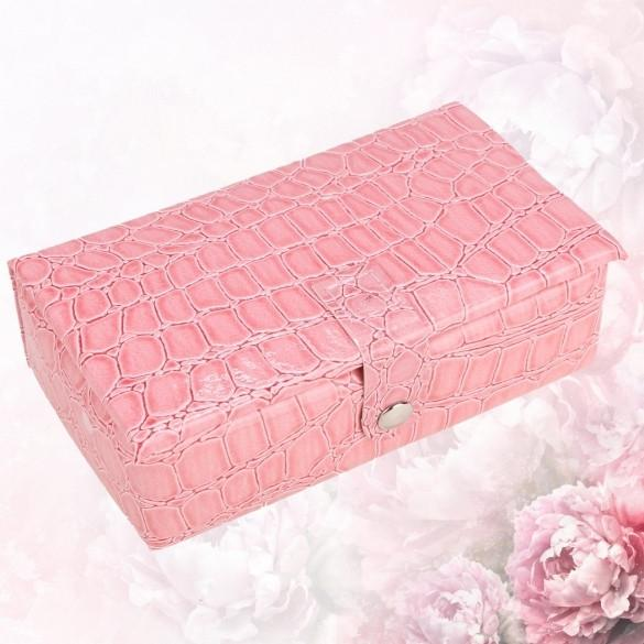 Portable Jewelry Box Plate Studs Earrings Storage Case Jewelry Packaging Display Box
